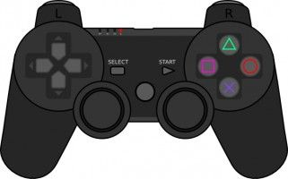 Dualshock 4 clipart vector library Image result for videogame controller clipart ps4 | chrismas drawing ... vector library