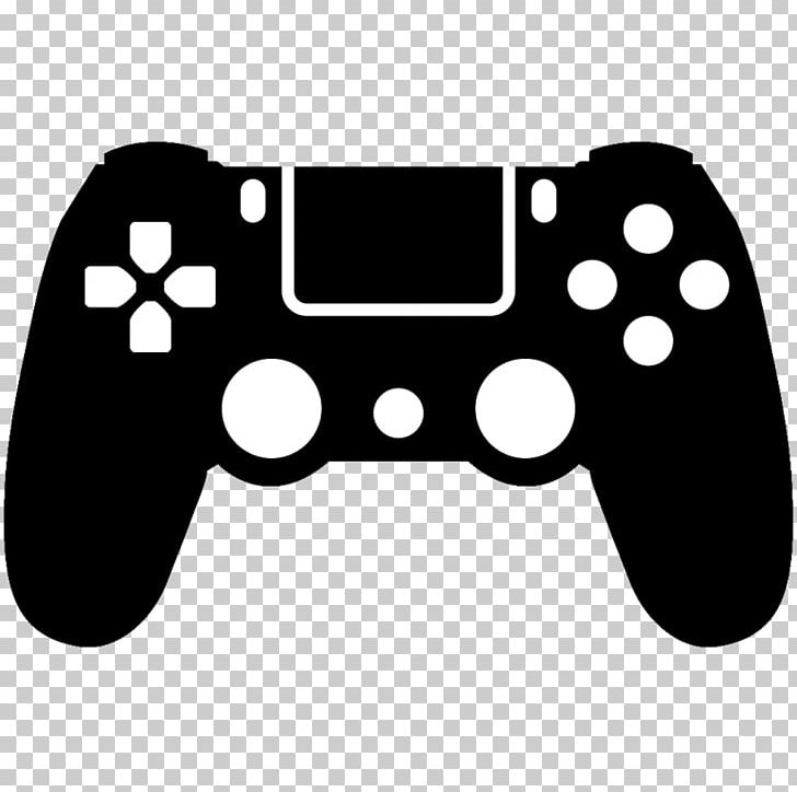 Dualshock 4 clipart graphic transparent PlayStation 4 Game Controllers Video Games PNG, Clipart, Black ... graphic transparent