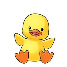 Duch clipart svg freeuse library baby-duck-clipart-1 - Norfolk Public Library svg freeuse library