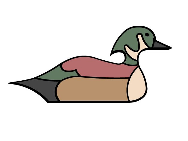 Duck decoy clipart clipart free Duck Decoy by wslab - Thingiverse clipart free