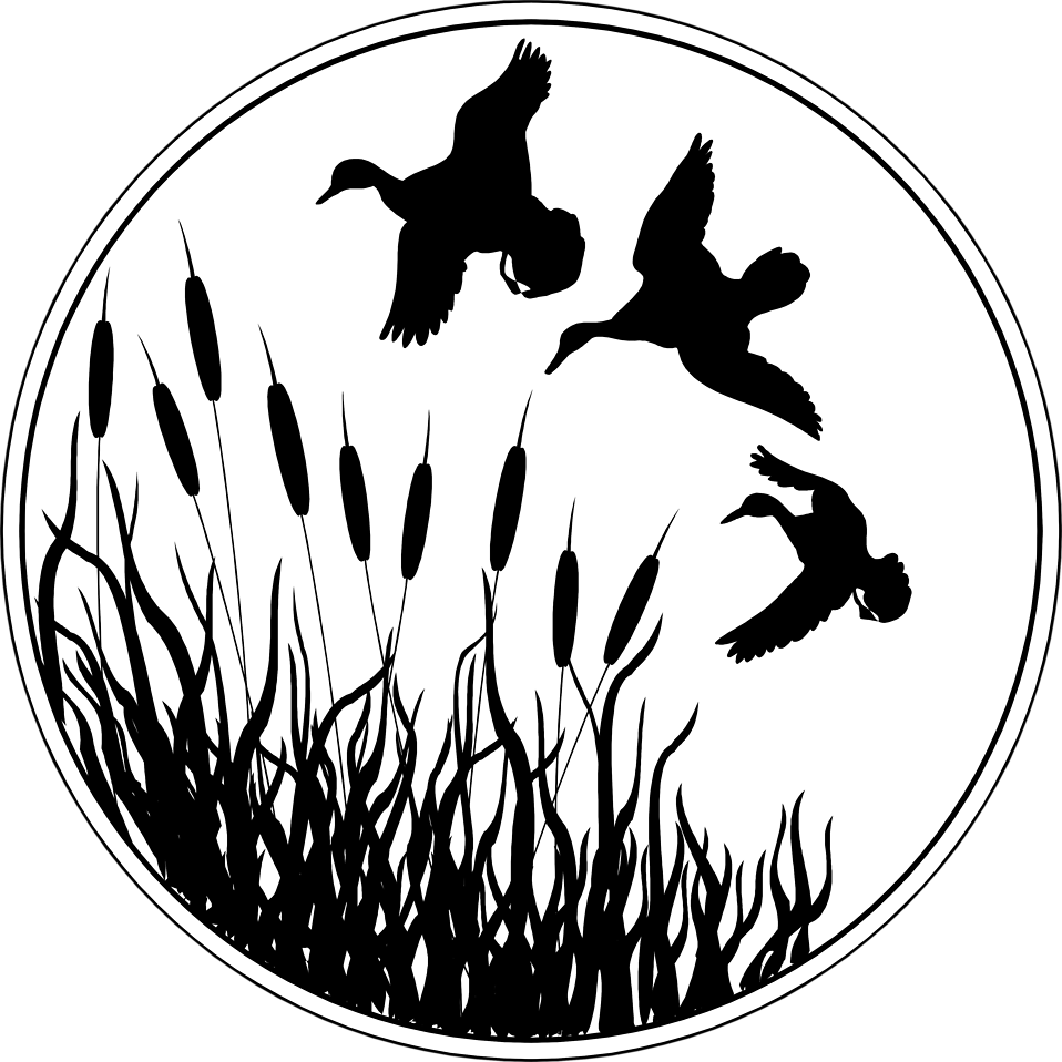 Turkey hunting scene clipart black and white jpg library download Free Stock Photo: Illusted silhouette of ducks flying*vector ... jpg library download