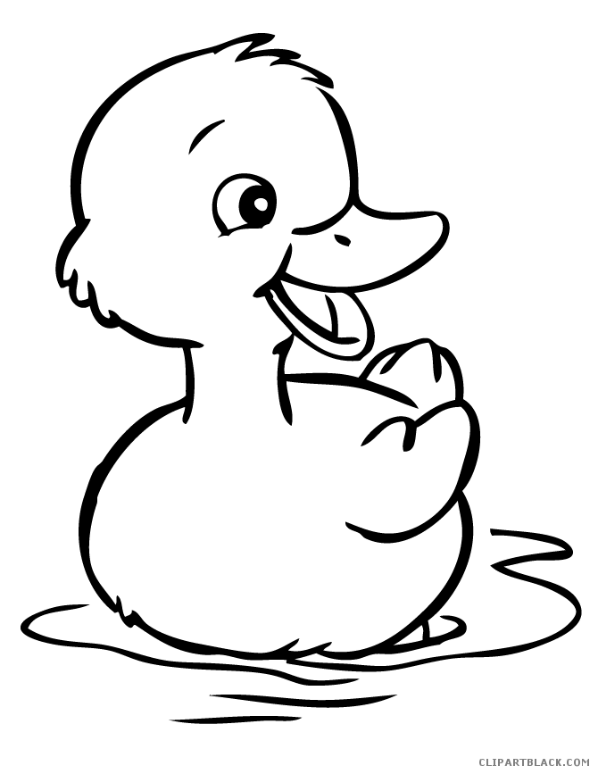 Duck images clipart black and white picture transparent Duck Clipart Black And White Ba Duck Ani #245245 - PNG Images - PNGio picture transparent