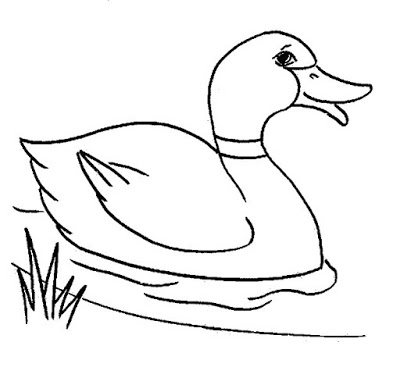 Duck outline clipart png stock Free Outline Of A Duck, Download Free Clip Art, Free Clip Art on ... png stock