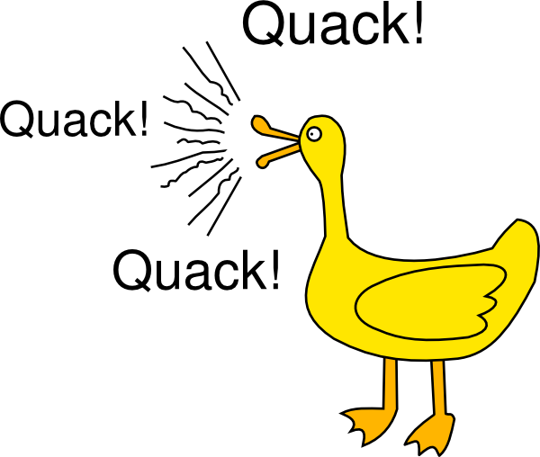 Duck quack clipart royalty free Free Clip Art Duck Quack free image royalty free