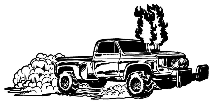 Dully clipart jpg black and white stock Free Diesel Truck Cliparts, Download Free Clip Art, Free Clip Art on ... jpg black and white stock