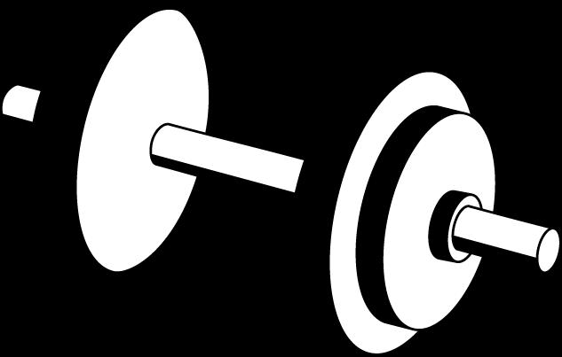 Dumbbell on back clipart black and white printable black and white library Free Barbell Clipart Png, Download Free Clip Art, Free Clip Art on ... black and white library