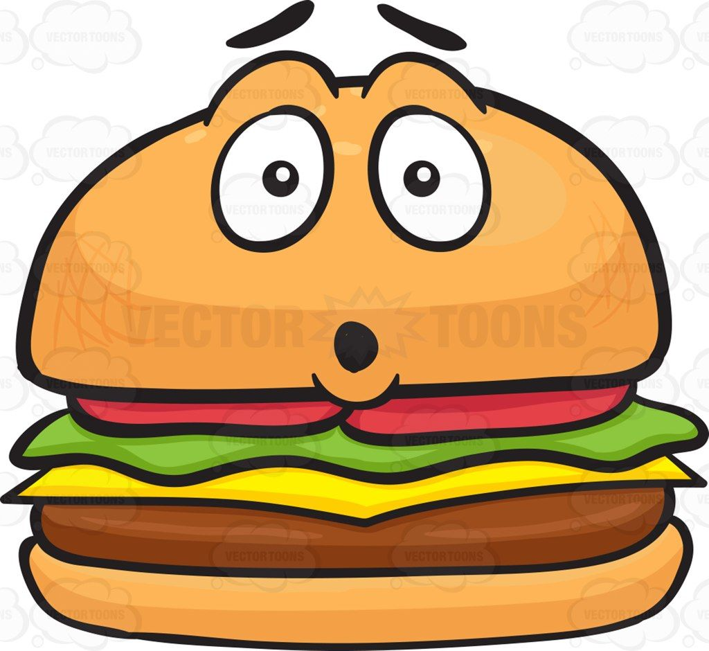 Dumbfounded clipart png library Dumbfounded Look On Cheeseburger #beef #beefburger #beefpatties ... png library