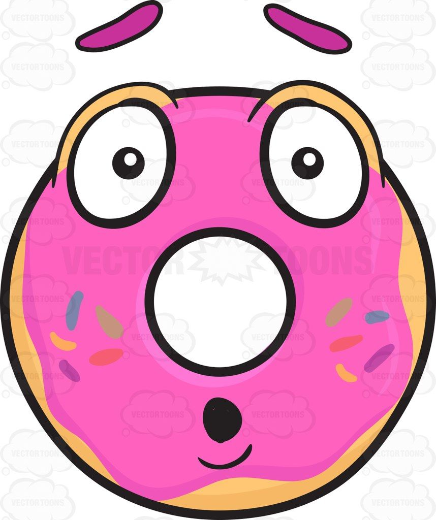 Dumbfounded clipart banner royalty free download Dumbfounded Donut Emoji #bluesprinkle #candysprinkles ... banner royalty free download