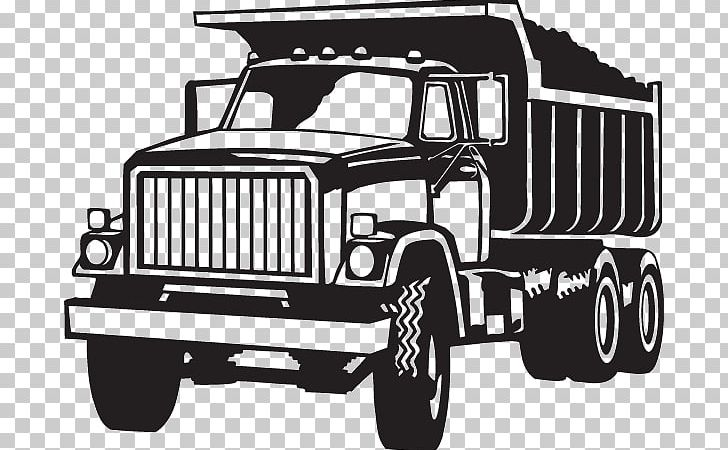 Dump truck clipart black and white graphic freeuse library Open Dump Truck Vehicle PNG, Clipart, Automotive Design, Black And ... graphic freeuse library