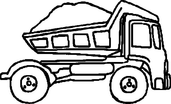 Dump truck clipart black and white png free Collection of Dump truck clipart | Free download best Dump truck ... png free