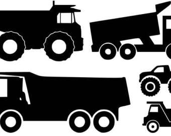 Dump truck clipart dumping black and white clip art library library Dump Truck Clipart Black And White (96+ images in Collection) Page 1 clip art library library