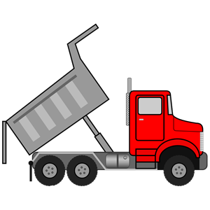 Dump truck clipart dumping black and white image freeuse download Dump Truck Clipart | Free download best Dump Truck Clipart on ... image freeuse download