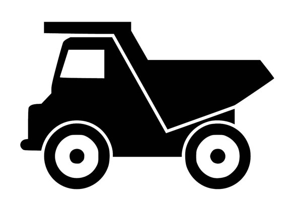 Dump truck dirt construction pdf clipart free jpg freeuse Dump Truck - SVG PDF PNG Jpg Dxf Eps File - Custom Designs Wording ... jpg freeuse