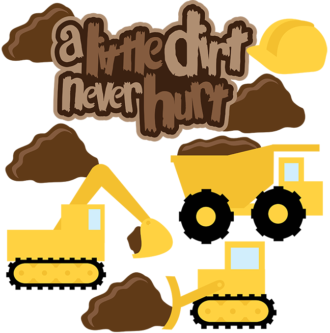 Dump truck dirt construction pdf clipart free image library library A Little Dirt Never Hurt SVG Scrapbook Collection dump truck svg ... image library library