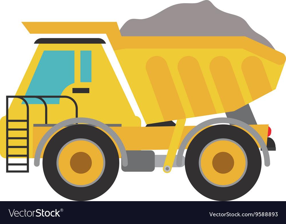 Dump truck dirt construction pdf clipart free picture transparent library Dump truck icon Under construction concept picture transparent library