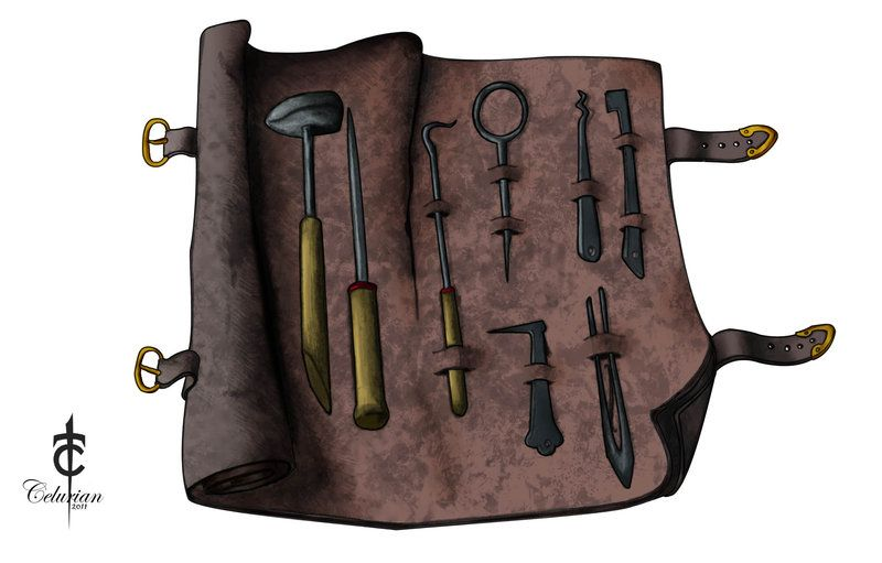 Dungeons and dragons thief with gold clipart clipart free Thieves Tools by CarlosTorreblanca on DeviantArt | Magic Items ... clipart free