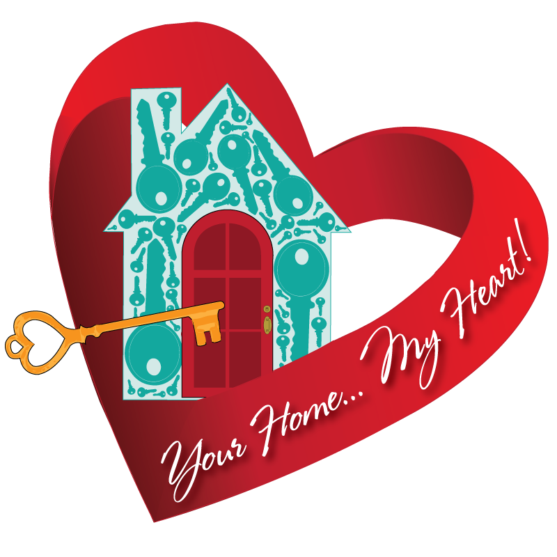 House with heart clipart clipart black and white stock Search Listings in Charleston, Folly Beach, and Summerville clipart black and white stock