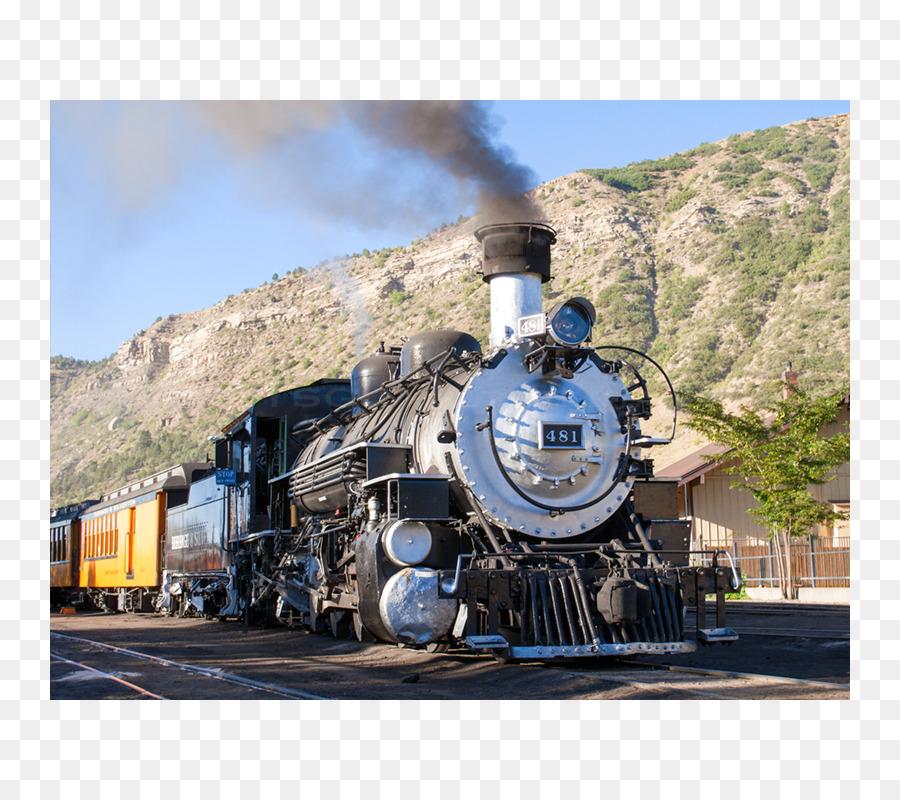 Durango & silverton narrow gauge railroad clipart