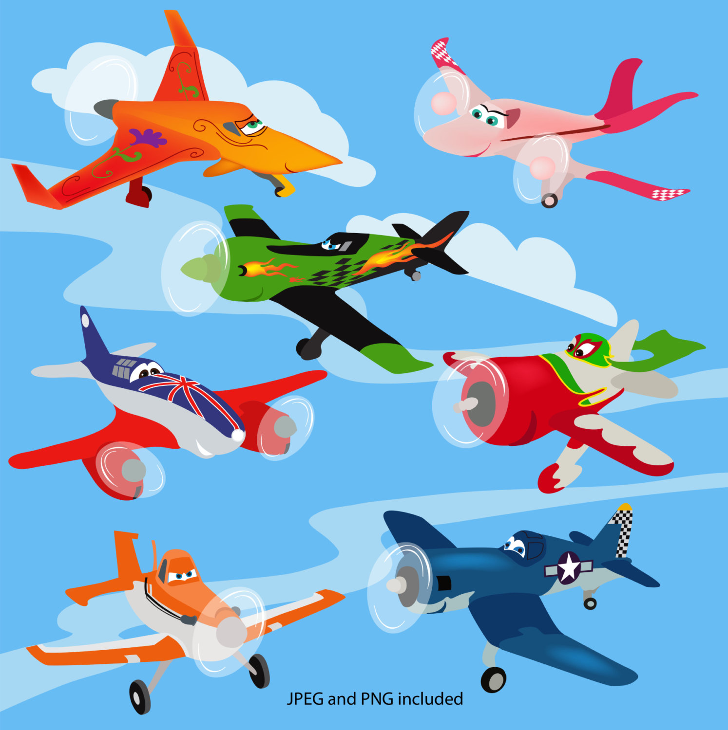 Dusty plane digital clipart picture black and white library Disney Planes Clipart Disney Planes Clipart | Cars and planes ... picture black and white library