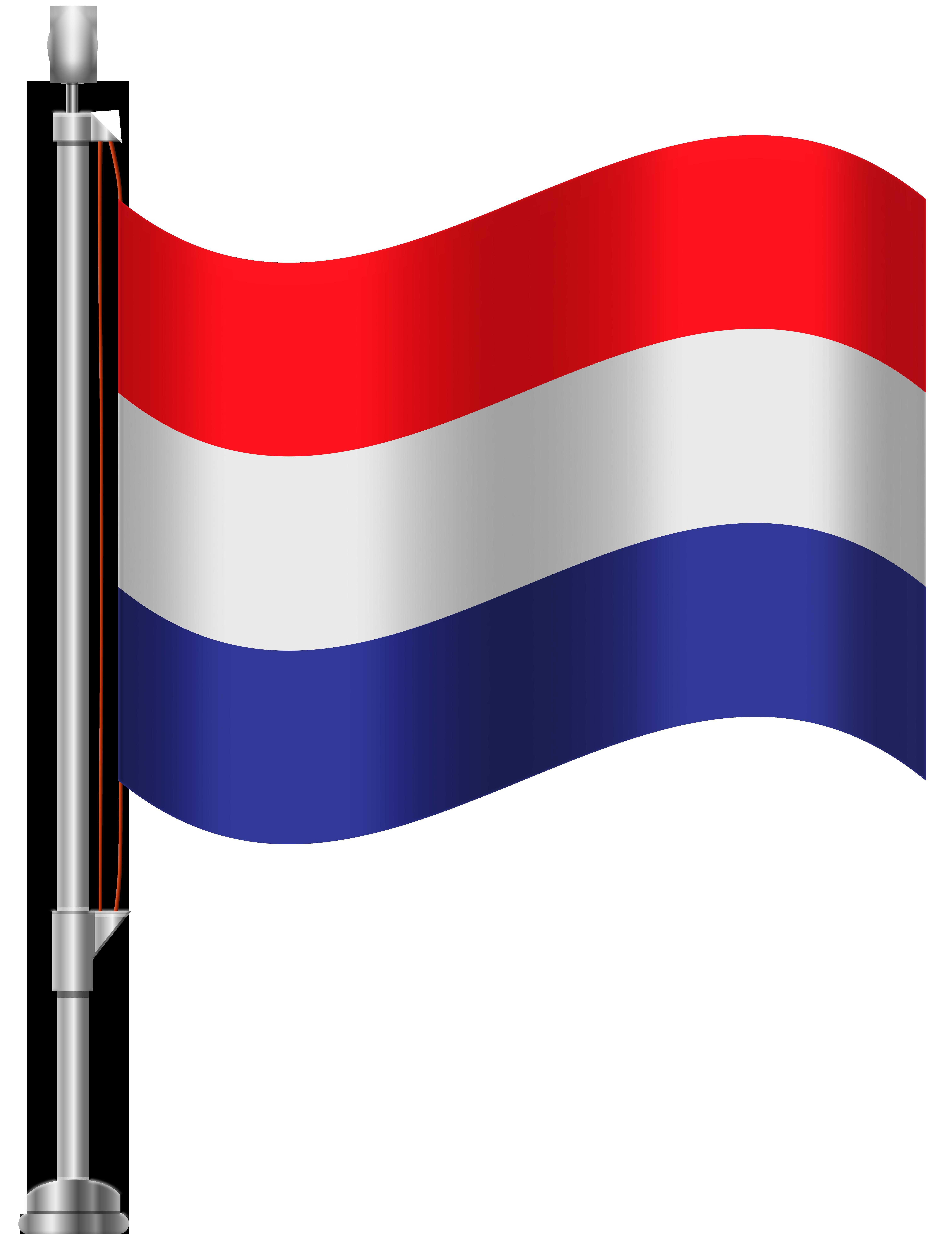 Netherlands flag clipart