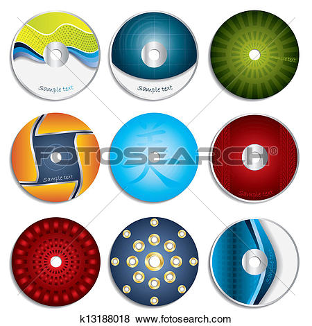 Dvd cover clipart banner transparent library Clip Art of CD & DVD label designs 3 k13188018 - Search Clipart ... banner transparent library