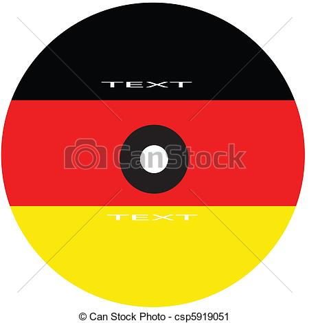 Dvd cover clipart vector library library Vector Clip Art of dvd cover germany - dvd cover with flag of ... vector library library
