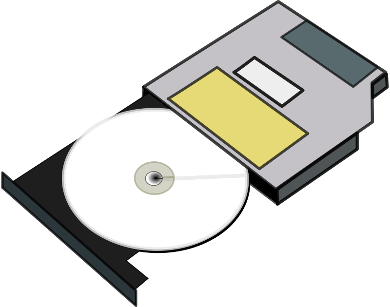 Dvd drive clipart svg free library Optical Drive Clipart svg free library