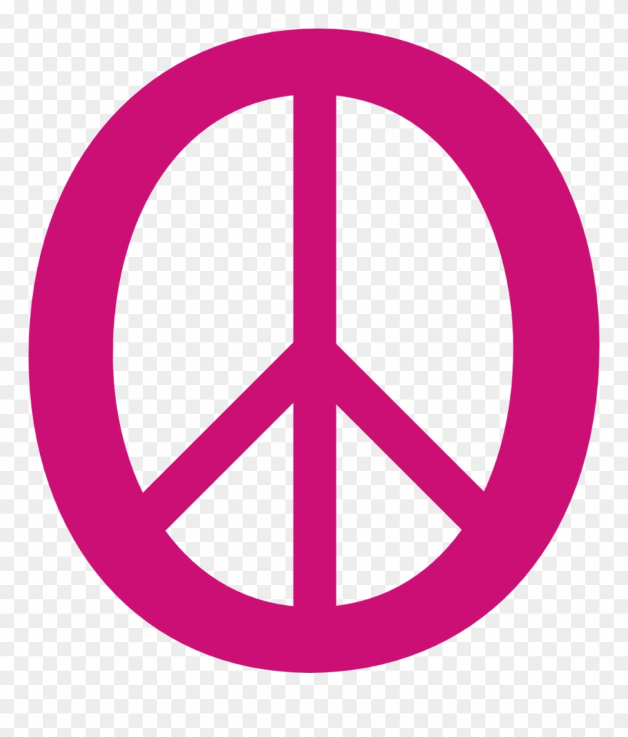 Dweeb clipart clip freeuse stock Deep Pink 3 Peace Symbol 11 Dweeb Peacesymbolorg Clipart - Png ... clip freeuse stock