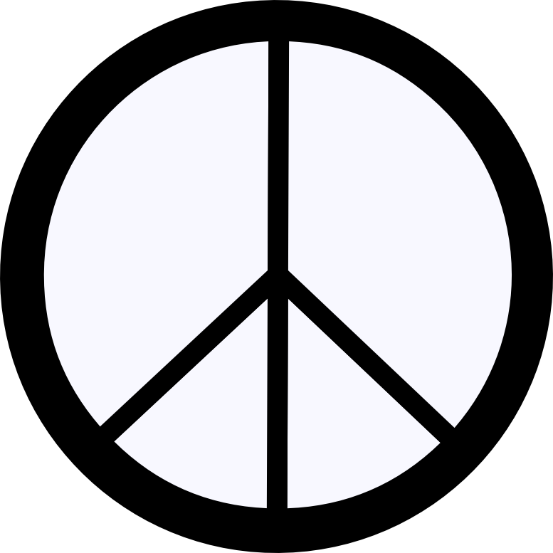 Dweeb clipart clip freeuse library Ghost White Peace Symbol 12 dweeb peacesymbol.org Peace Symbol ... clip freeuse library