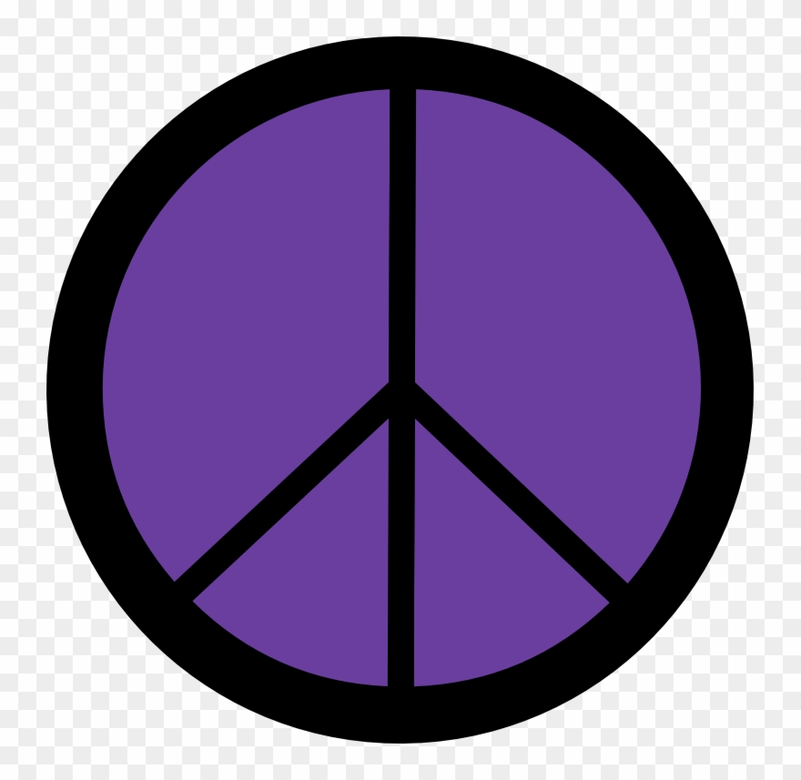 Dweeb clipart black and white stock Royal Purple Peace Symbol 12 Dweeb Peacesymbol - Three Lines In A ... black and white stock