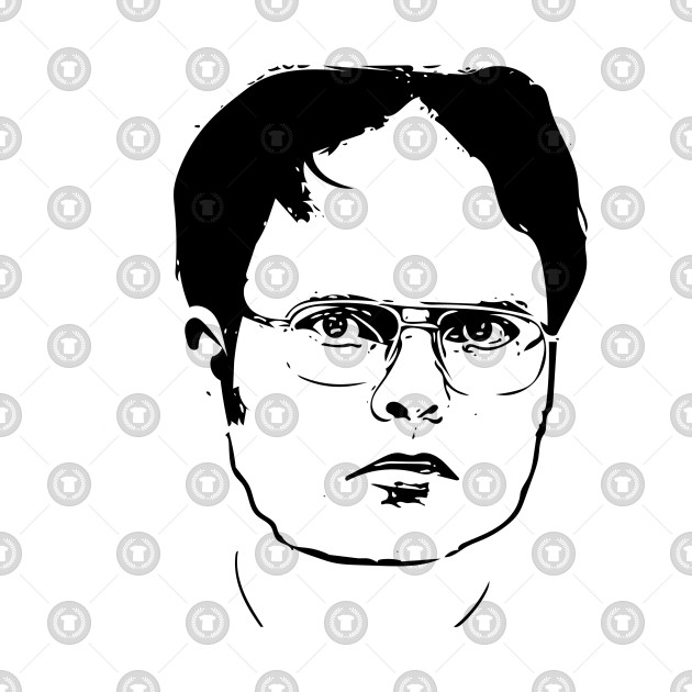 Dwight clipart royalty free library Dwight Schrute - The Office royalty free library