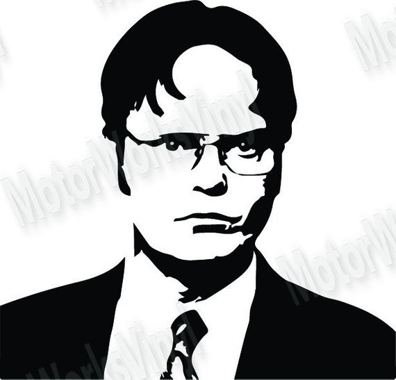 Dwight clipart vector Dwight schrute clipart 2 » Clipart Portal vector
