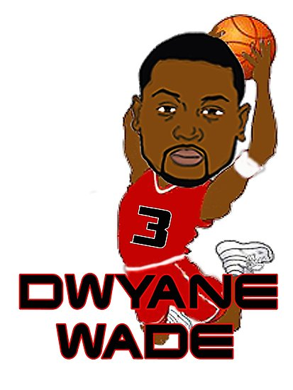 Dwyane wade clipart picture freeuse \'Dwyane Wade\' Photographic Print by chan20 picture freeuse