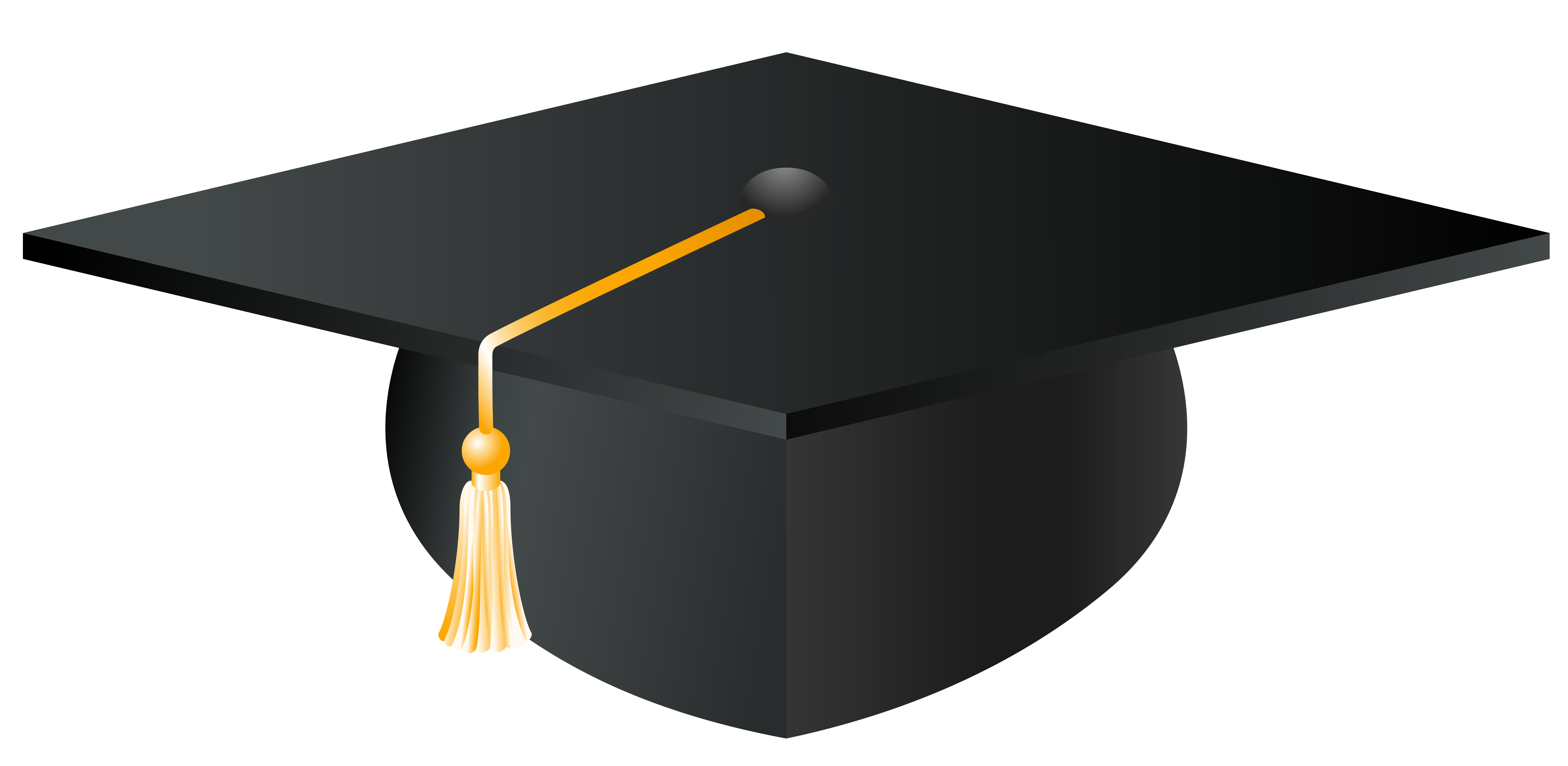 Free clipart images of high school graduation 2018 clip freeuse download Black And White Vector For Graduation Cap Clipart | Free download ... clip freeuse download