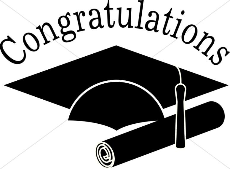 E 2018 graduate black and white clipart banner black and white Black And White Vector For Graduation Cap Clipart | Free download ... banner black and white