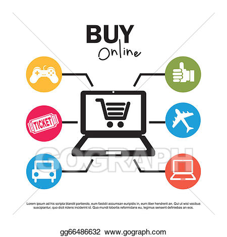 Ecommerce clipart image library library Vector Art - Ecommerce. Clipart Drawing gg66486632 - GoGraph image library library