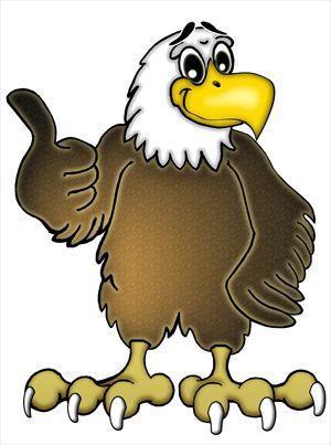 Eagle cartoon clipart clip art freeuse Eagle Cartoon Clip Art & Look At Clip Art Images - ClipartLook clip art freeuse