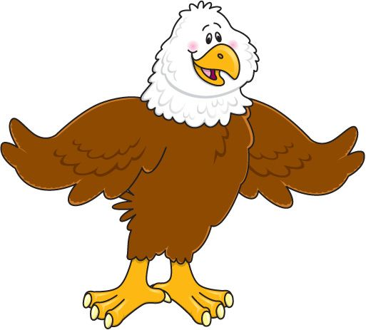 Eagle clipart cartoon vector transparent 104+ Eagle Cartoon Clip Art | ClipartLook vector transparent
