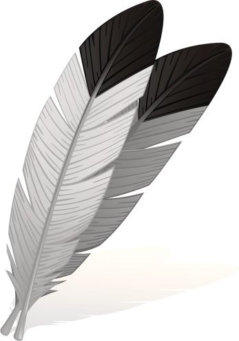 Eagle feather clipart jpg transparent download Eagle Feather Clip Art, Vector Images & Illustrations - iStock ... jpg transparent download