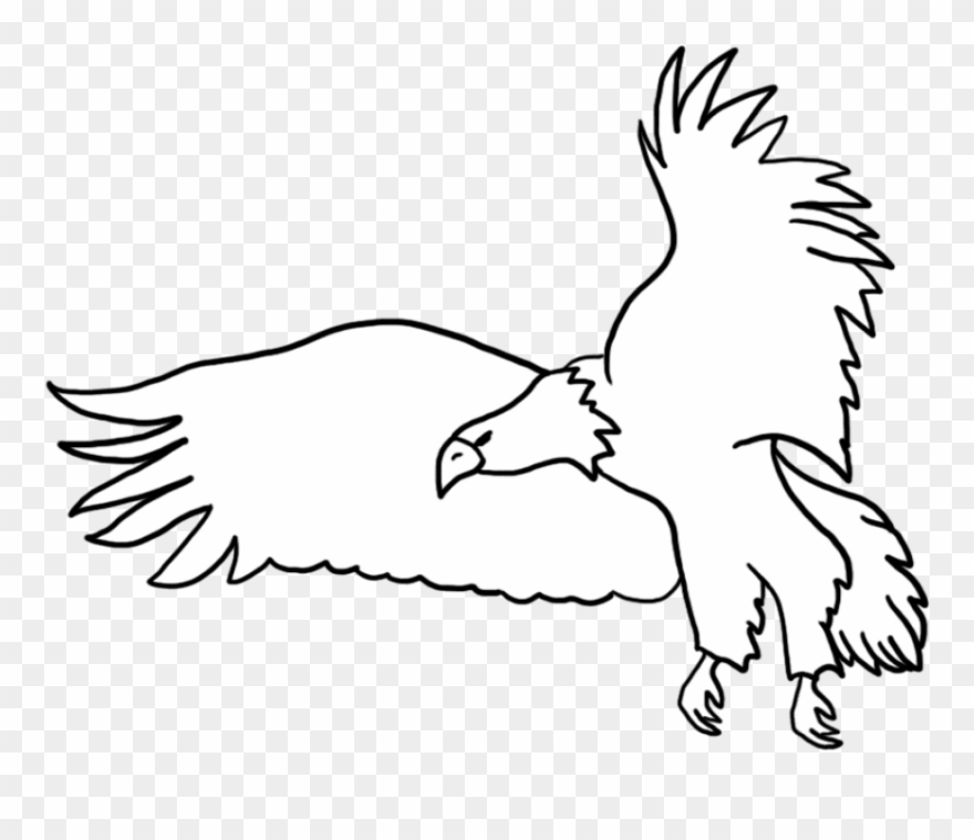 Eagle flying clipart black and white clip art transparent stock Free Png Download Black Flying Eagle Png Images Background - White ... clip art transparent stock