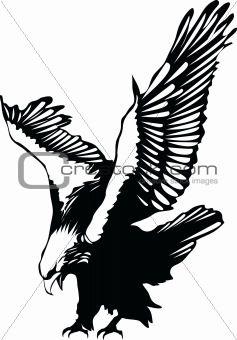 Eagle flying clipart black and white jpg royalty free Flying Eagle Silhouette Clipart - Free Clipart | Woodburning | Art ... jpg royalty free