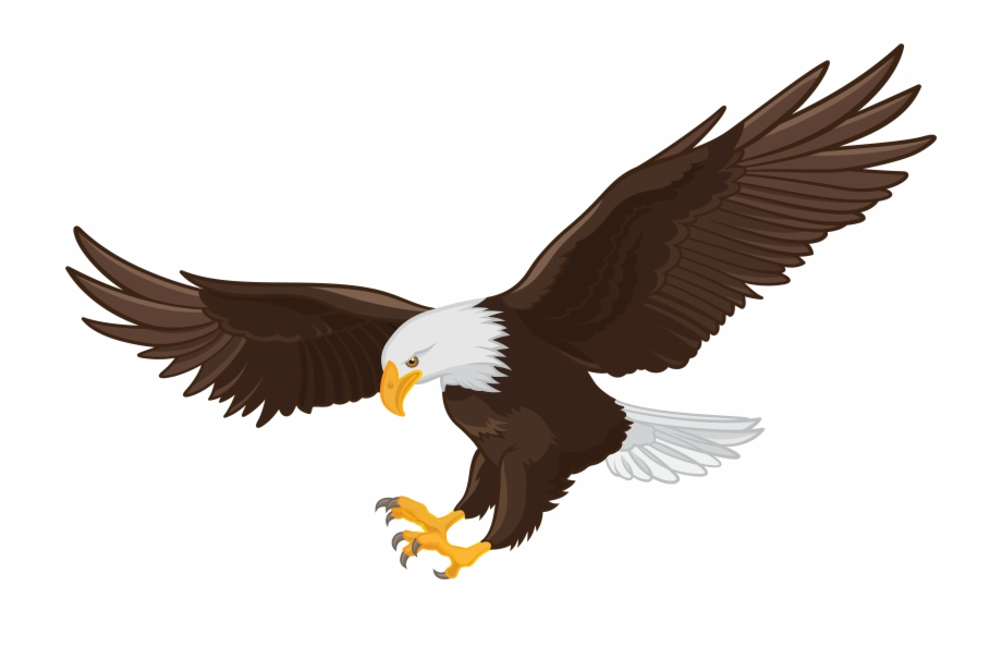 Eagle flying in clouds clipart black and white jpg black and white library Bald Eagle Clip Art - Bald Eagle Flying Clipart, Transparent Png ... jpg black and white library