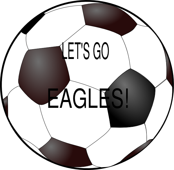 Eagles soccer ball clip. Eagle with football clipart