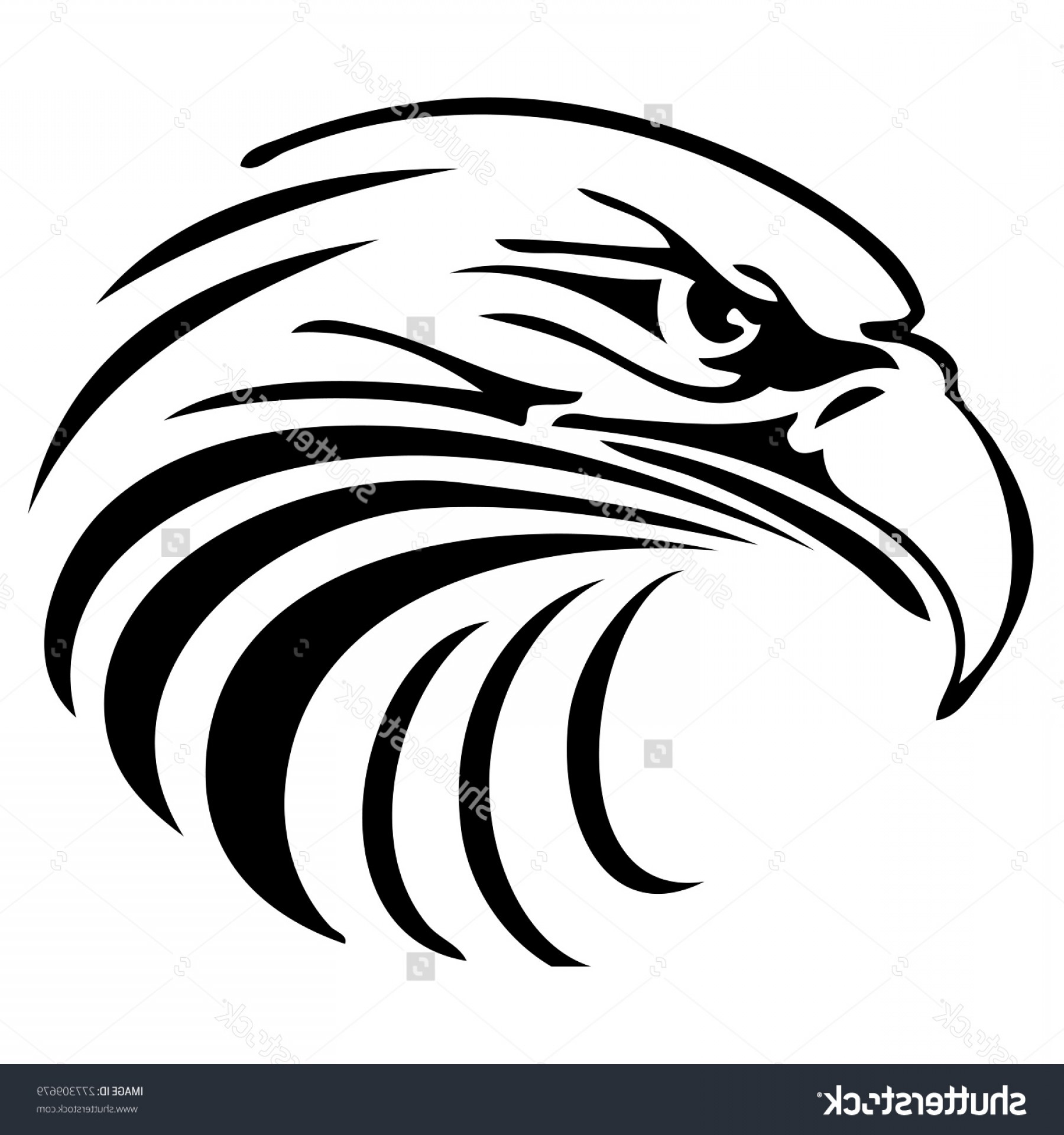 Eagle head clipart black and white graphic free library Eagle Head Clipart Black And White Vector | GeekChicPro graphic free library