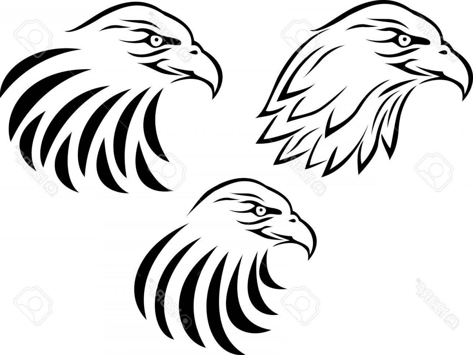 Eagle head clipart black and white svg black and white download Eagle Head Clipart Black And White Vector | SOIDERGI svg black and white download