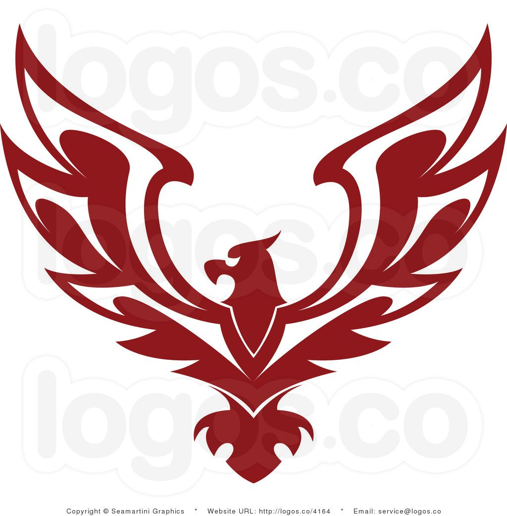 Wife logos clipart jpg royalty free library Logo Design   Royalty Free Red Eagle Logo by Seamartini Graphics ... jpg royalty free library