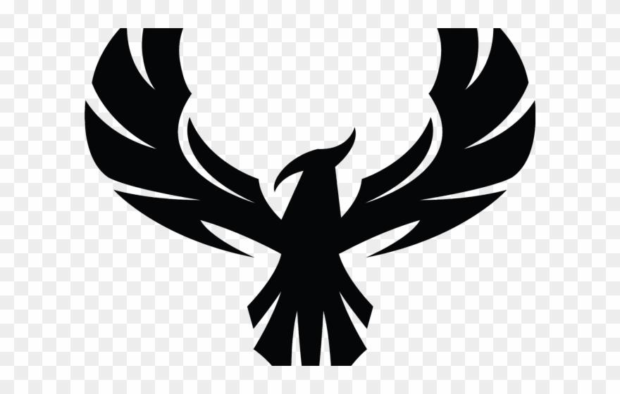 Logo design clipart clipart royalty free download Phoenix Clipart Phoenix Silhouette - Eagle Logo Design Black And ... clipart royalty free download