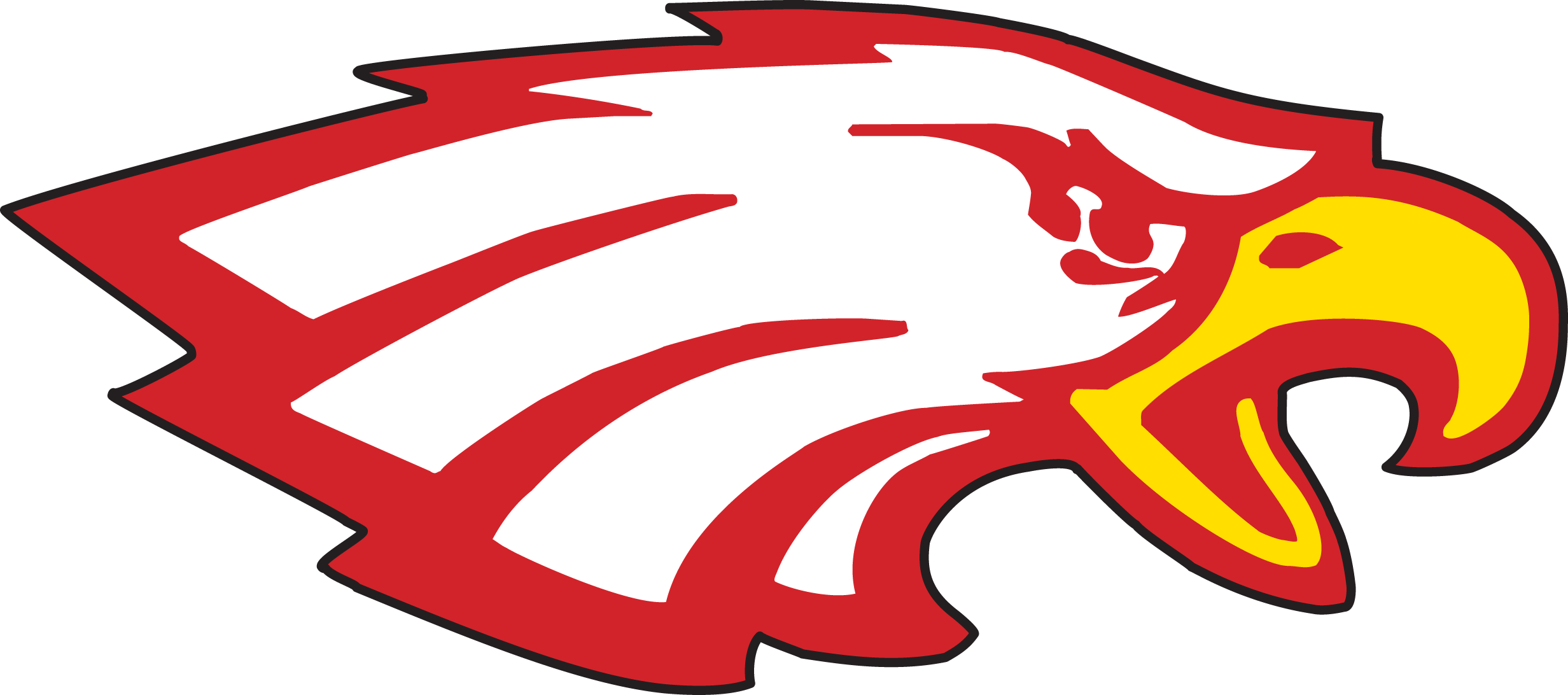 Brand high schools mascots. Eagle school mascot clipart