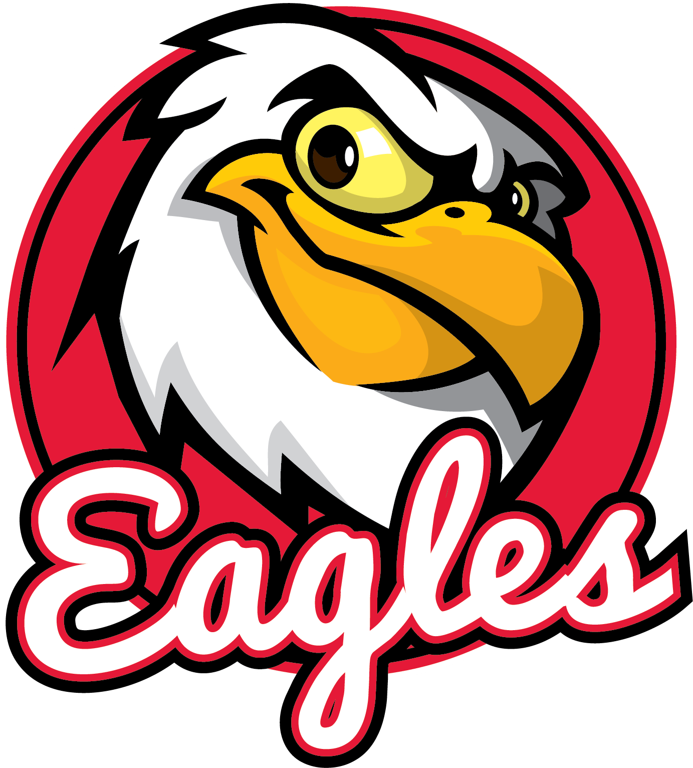 Reedy creek magnet middle. Eagle school mascot clipart
