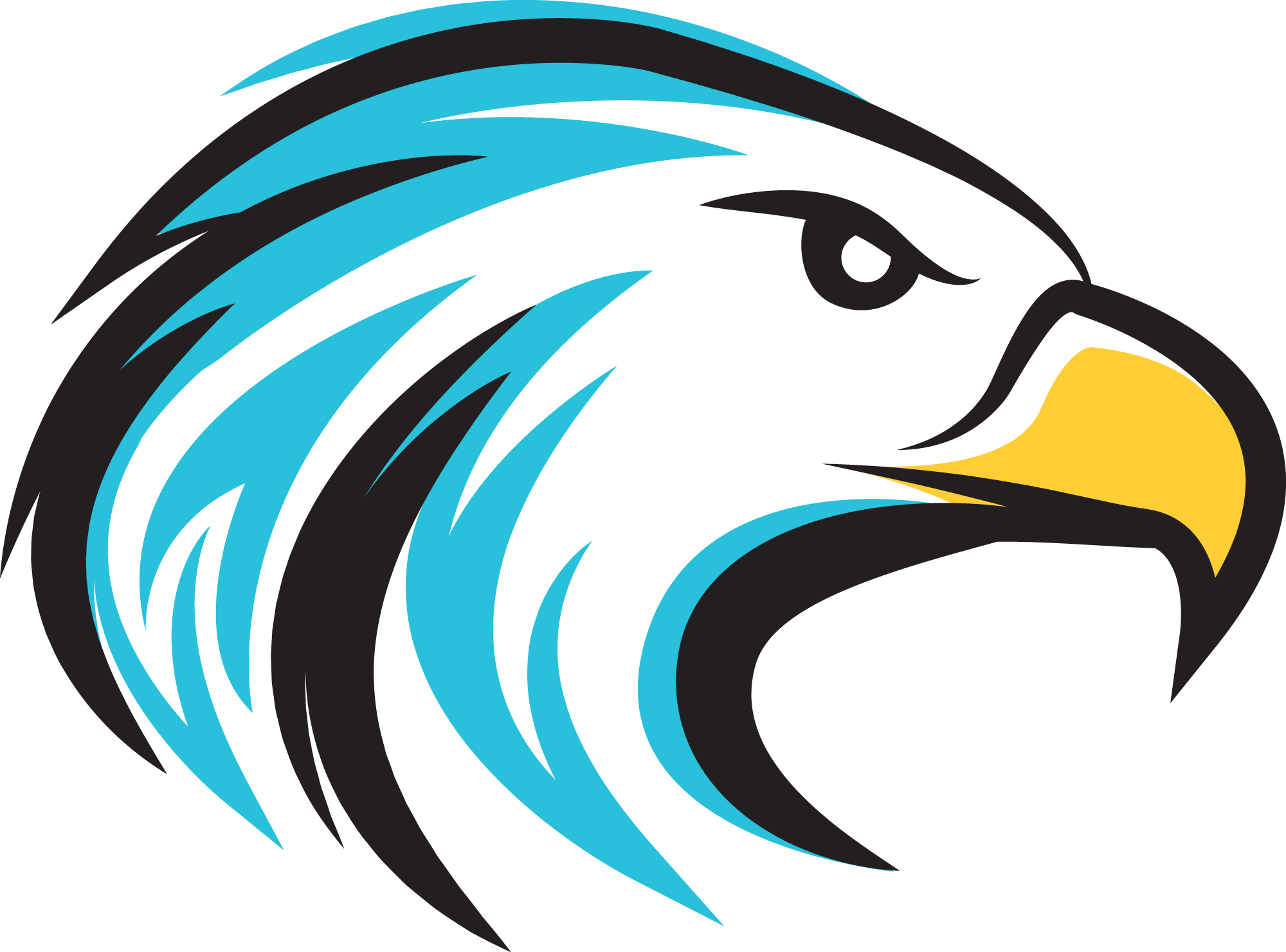 Eagle school mascot clipart. Dysart elementary district spelling